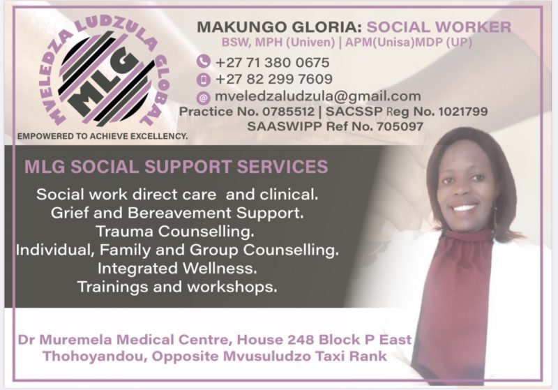 MLG Support Services – Gloria Makungo